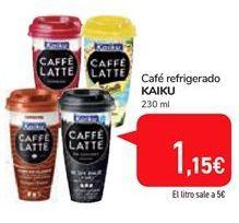 Oferta de Caffe refrigerado Kaiku por 1,15€