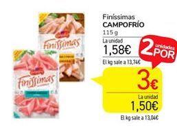 Oferta de Loncheados Campofrío por 1,73€
