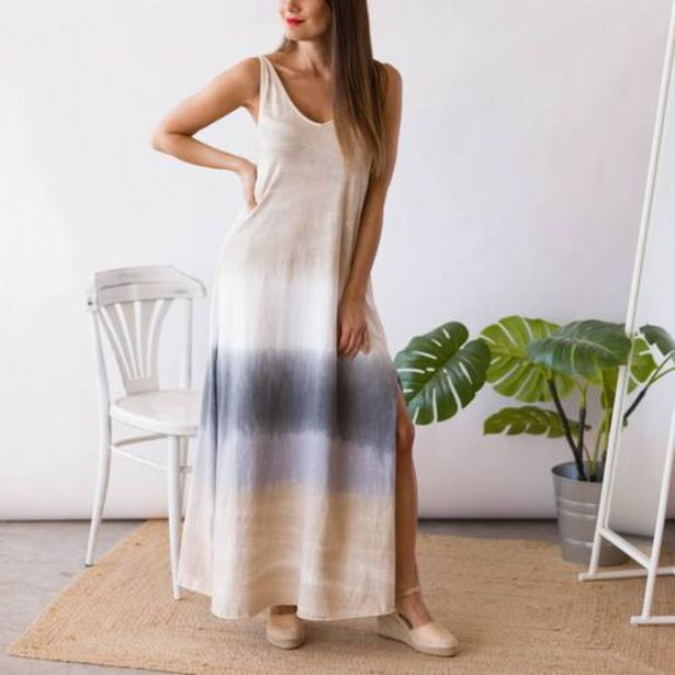 Oferta de Vestido Degradado Beige  por 25,99€