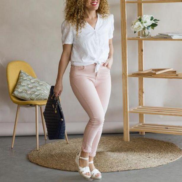 Oferta de Jeans Sibu Nude  por 22,99€