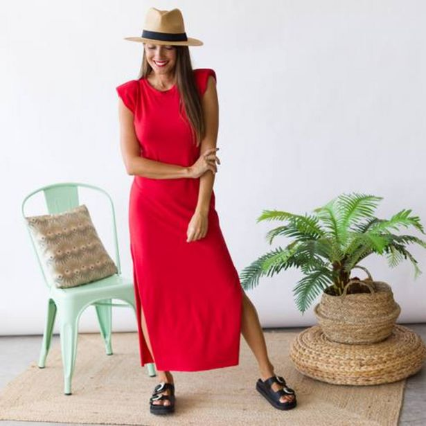Oferta de Vestido City Rojo  por 23,99€