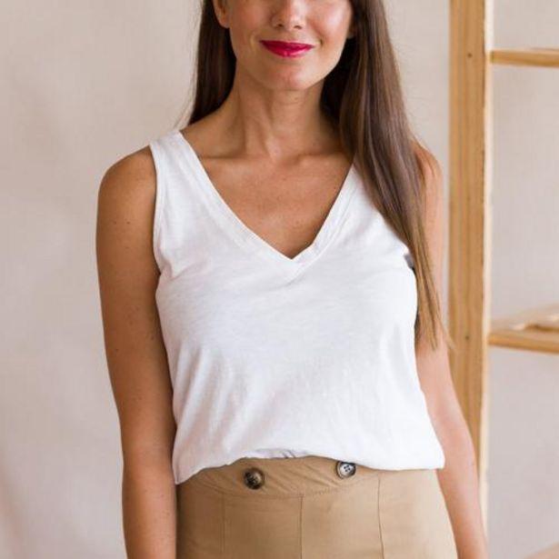 Oferta de Top Viza Blanco  por 15,99€