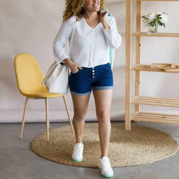 Oferta de Jeans Cortos Flip MARINO  por 9€