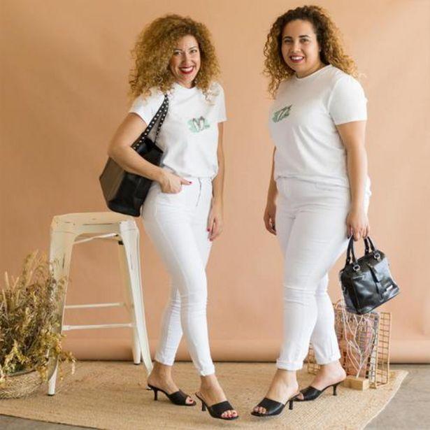 Oferta de Jeans Sibu Blanco  por 22,99€