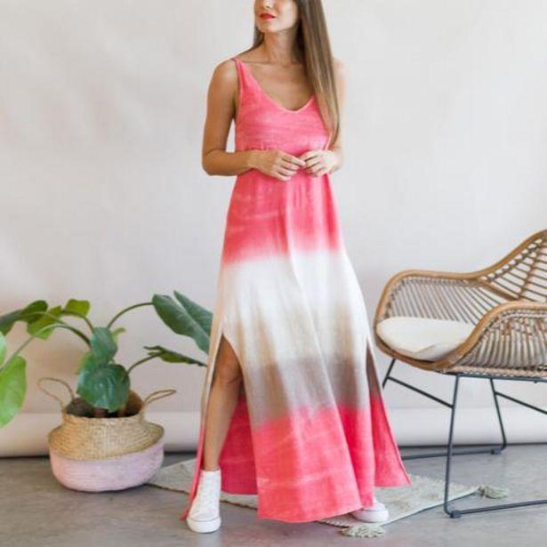 Oferta de Vestido Degradado Fucsia  por 25,99€