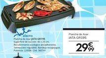 Oferta de Plancha de asar Jata por 29,99€