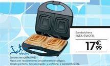 Oferta de Sandwichera Jata por 17,99€