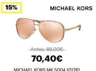 Oferta de Gafas de sol Michael Kors por 70,4鈧�