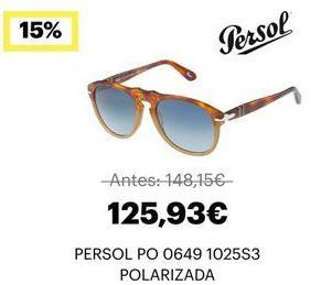 Oferta de Gafas de sol por 125,93€
