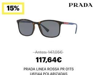 Oferta de Gafas de sol Prada por 117,64€