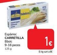Oferta de Espárragos CARRETILLA por 1€