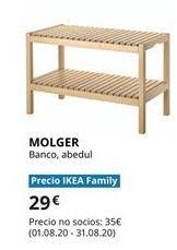 Oferta de Banco de madera por 29€