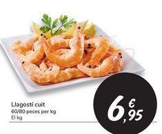 Oferta de Langostino cocido por 6,95€