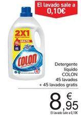 Oferta de Detergente líquido Colon por 8,95€