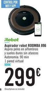 Oferta de Aspirador robot ROOMBA 896 IRobot por 299€