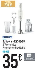 Oferta de Batidora HR2543/00 PHILIPS  por 35€