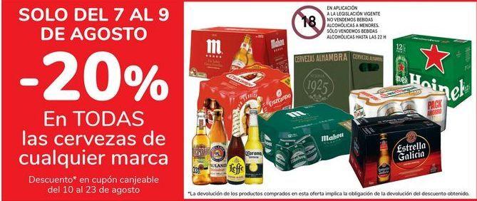 Oferta de En TODAS las cervezas de cualquier marca por