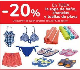 Oferta de En TODA la ropa de baño, chanclas y toallas de playa por