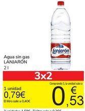 Oferta de Agua Lanjarón por 0,79€