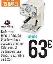 Oferta de Cafetera MEC1100C-20 Mandine  por 63€