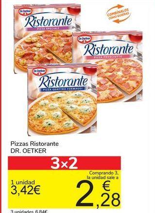 Oferta de Pizza Ristorante DR.OETKER  por 3,42€