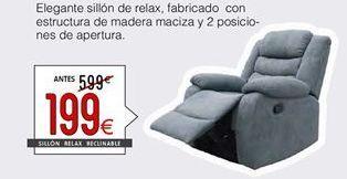 Oferta de Sillón relax por 199€