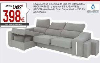 Oferta de Chaise longue por 398€