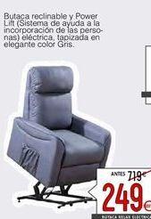 Oferta de Butaca reclinable por 249€