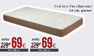 Oferta de Colchones visc o essential  por 69€