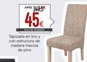 Oferta de Silla tapizada por 45€