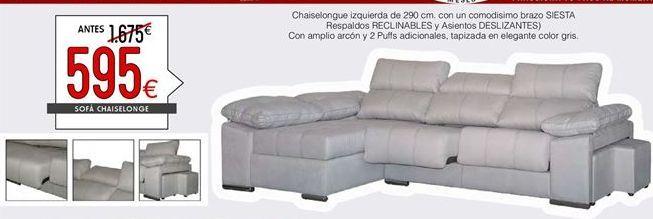 Oferta de Chaise longue multifunción por 595€