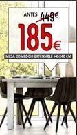 Oferta de Mesa de comedor extesible por 185€