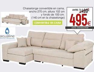Oferta de Chaise longue convertible por 495€