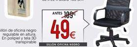 Oferta de Sillón de oficina por 49€