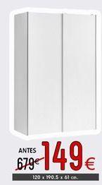 Oferta de Armario con puertas correderas por 149€