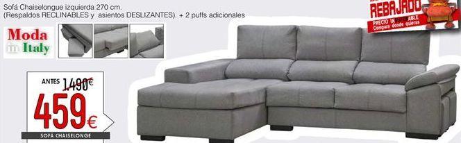 Oferta de Chaise longue por 459€