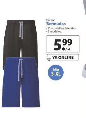Oferta de Bermudas Livergy por 5,99€