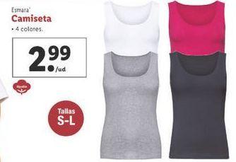 Oferta de Camiseta esmara por 2,99€