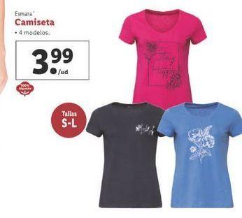 Oferta de Camiseta esmara por 3,99€