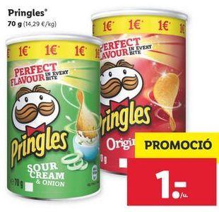 Oferta de Pringles por 1€
