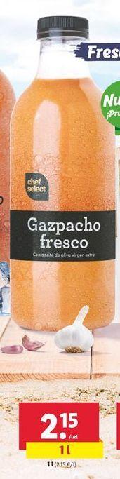 Oferta de Gazpacho fresco chef select por 2,15€