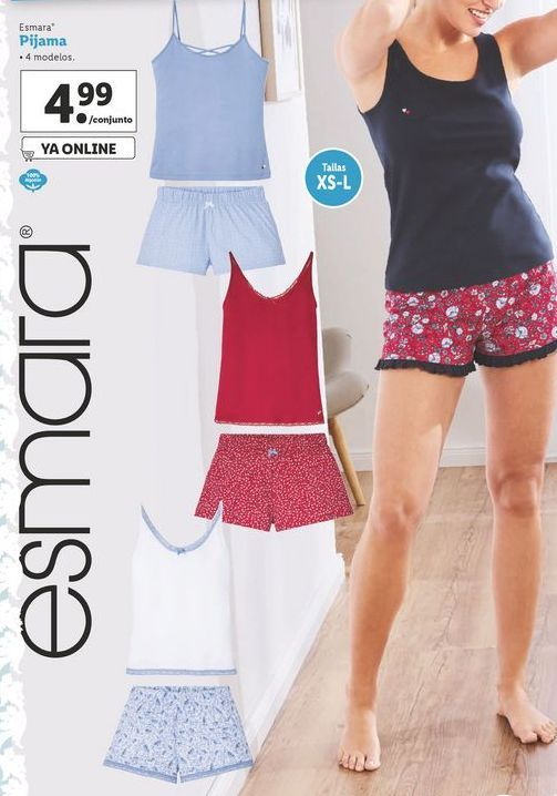 Oferta de Pijama Esmara por 4,99€