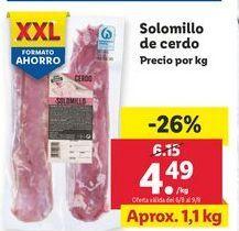 Oferta de Solomillo de cerdo por 4,49€
