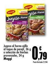 Oferta de Ayudas culinarias Maggi por 0,79€