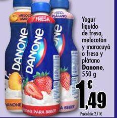 Oferta de Yogur líquido Danone por 1,49€
