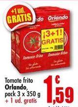 Oferta de Tomate frito Orlando por 1,59€