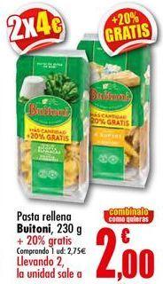 Oferta de Pasta Buitoni por 2,75€