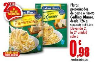 Oferta de Platos preparados Gallina Blanca por 1,95€