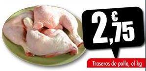 Oferta de Traseros de pollo por 2,75€