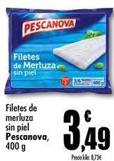 Oferta de Filetes de merluza Pescanova por 3,49€